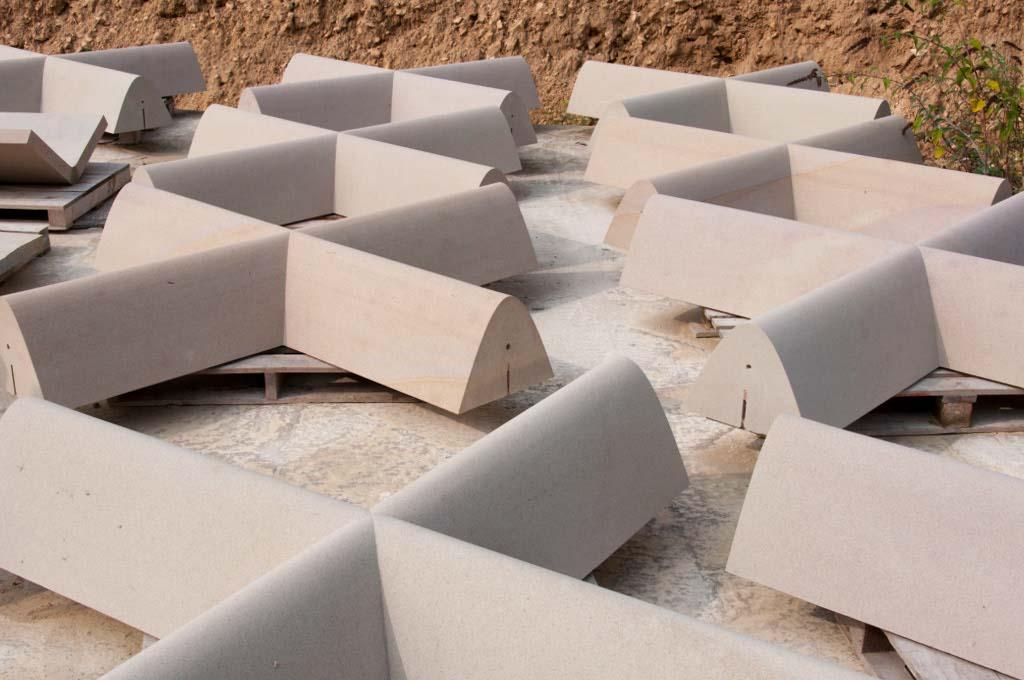 CNC cut stone